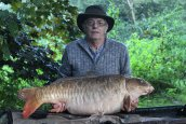 Mr Stent with the Big Ghostie at 40lb 4ozs